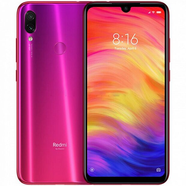 Смартфон Xiaomi Redmi Note 7 64GB/4GB (Red/Красный)